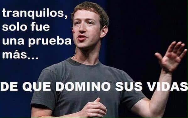 Facebook & Instagram se caen Facebookdown meme 4