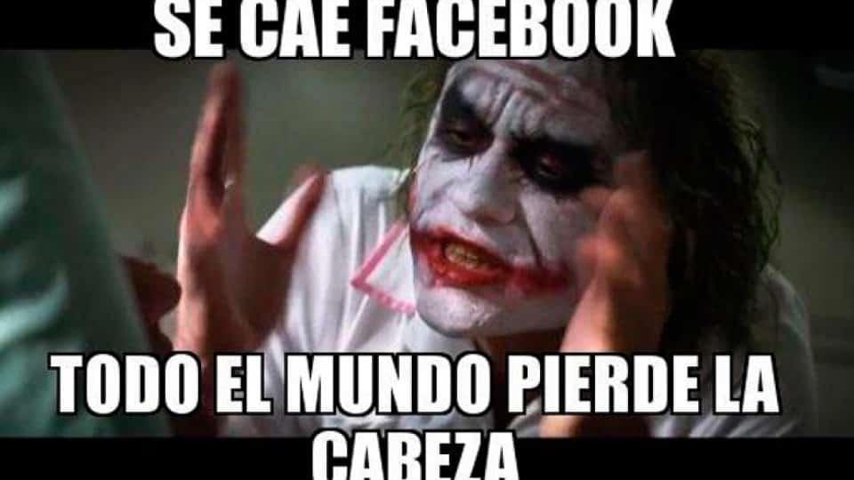 Facebook & Instagram se caen meme facebook 2 Noticia 705710
