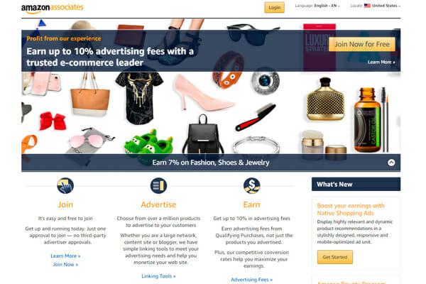 Las 10 mejores plataformas de marketing de afiliados Afiliados de Amazon