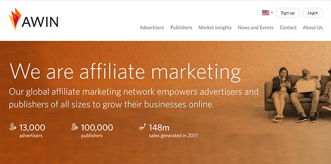 Las 10 mejores plataformas de marketing de afiliados Awin Affiliate