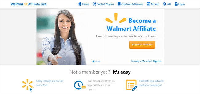 Las 10 mejores plataformas de marketing de afiliados Walmart