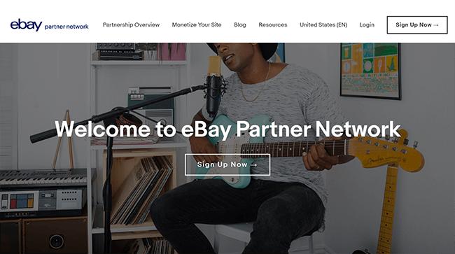 Las 10 mejores plataformas de marketing de afiliados ebay Partner