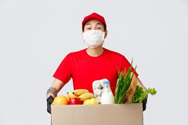 Cómo superar la pandemia de Covid-19 si pierde su trabajo repartidor espacio